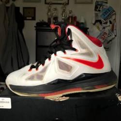 detailed look feb48 8e5ed  75 Nike lebron 10 home. Lebron x cutting jade ...