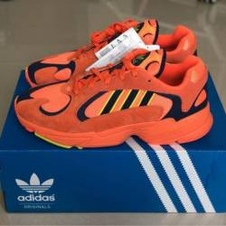 Adidas yung 1 hi res orange me...