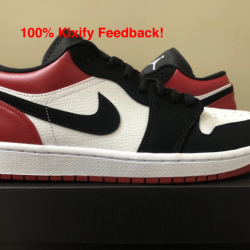 Air jordan 1 black toe low