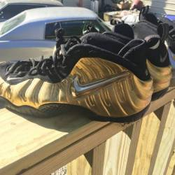 Nike air foamposite pro metall...