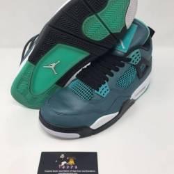 Nike air jordan retro 4 teal 30th