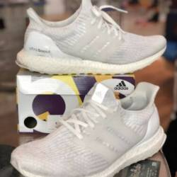 Adidas ultra boost triple whit...