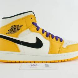 "Air jordan 1 mid se ""lakers"""