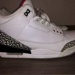 Air jordan 3 white cement 2011