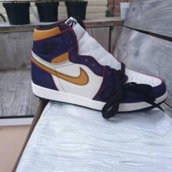 "Nike sb x air jordan 1 ""la to ..."