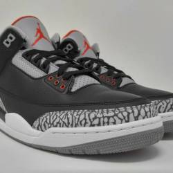 Jordan 3 retro black cement (2...