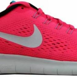 Nike free rn racer pink/off wh...