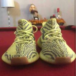 Yeezy 350 semi frozen yellow