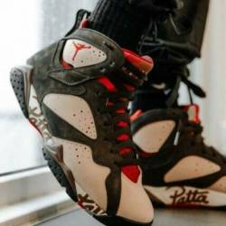 Nike jordan 7 retro patta shim...