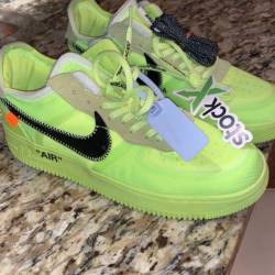Nike air force 1 volt off white