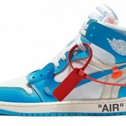 "Off-white x air jordan 1 ""po..."