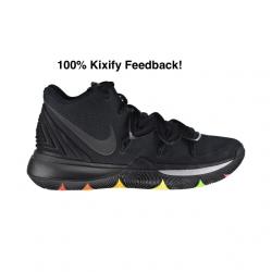 Nike kyrie 5 black multicolor