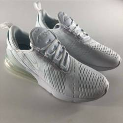 Nike air max 270 triple white ...