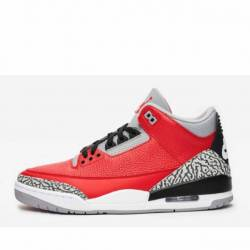 Air jordan 3 retro fire red ce...
