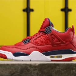 Air jordan 4 fiba red ci1184-617