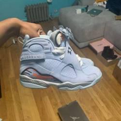 Jordan ice blue 8