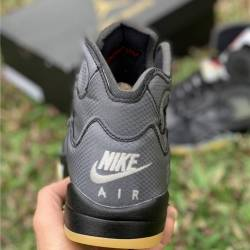 Off-white x air jordan 5 retro...