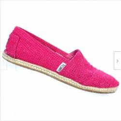 Toms perforated espadrille pin...