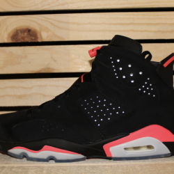 Air jordan retro 6 black infra...