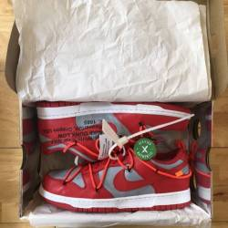 Nike dunk low off-white univer...