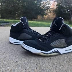 """2013 Air Jordan 5 Retro """"oreo"""""""
