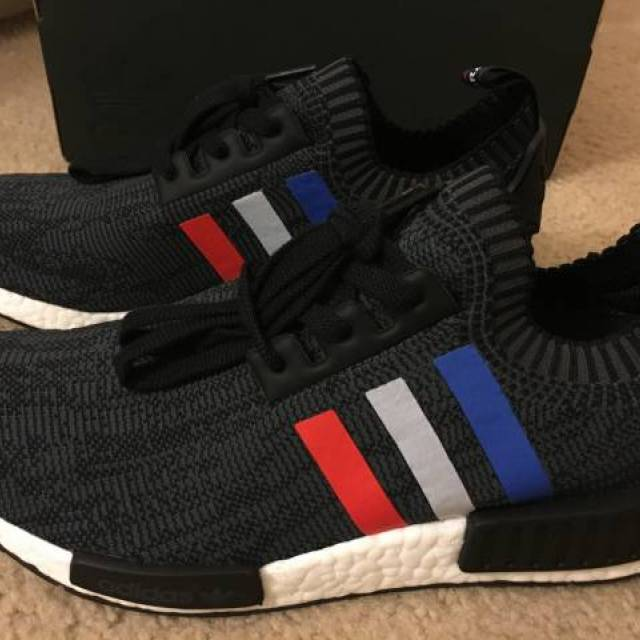 d68bbc222172f Adidas NMD R1 Primeknit Tricolor BB2887 Size 9