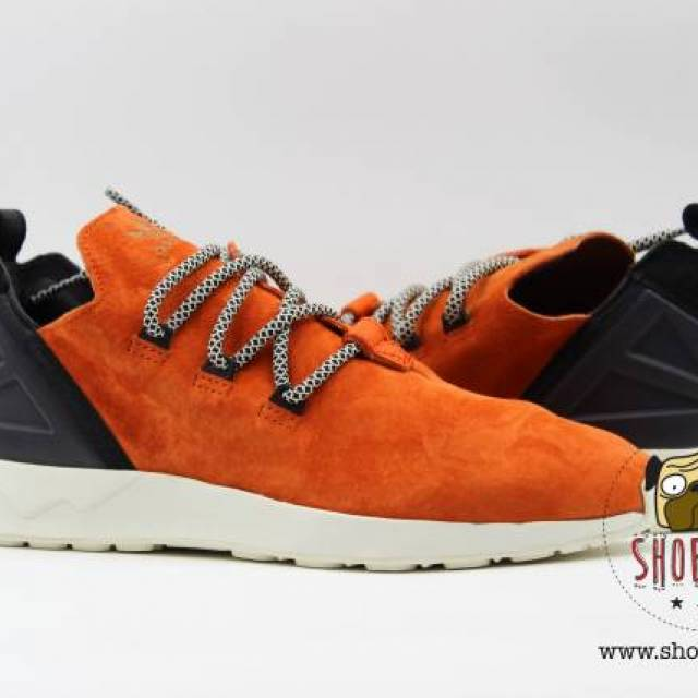 d075ac50337 Adidas ZX Flux ADV X size 8.5 w  Box orange crachi black