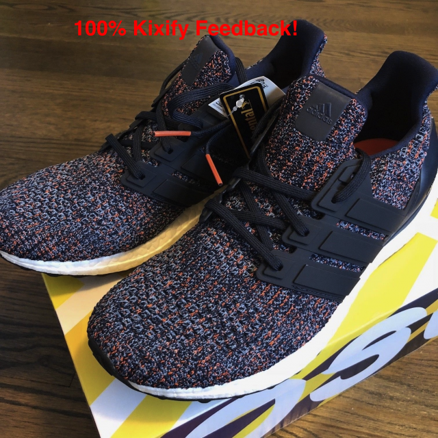 newest collection 94f3a a6f99 Adidas Ultra Boost 4.0 Navy Multicolor