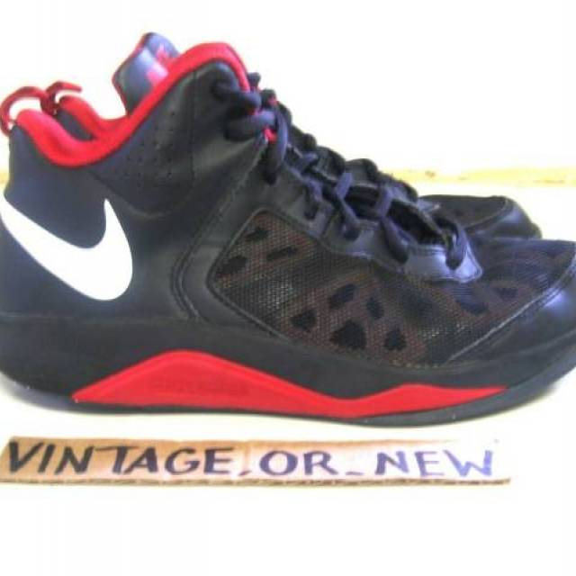 regular fuegos artificiales Derretido  Nike Dual Fusion BB Black Red White Basketball Shoes 537574-001 GS sz 6.5Y  | Kixify Marketplace