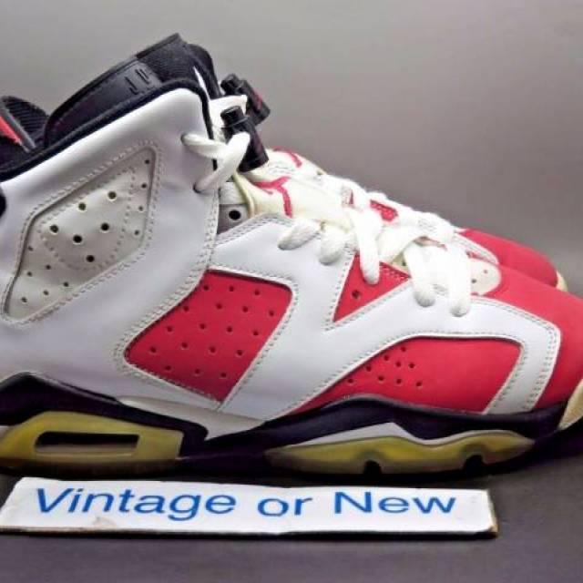 Girls' Nike Air Jordan VI 6 Coral Rose