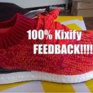 Adidas Ultra Boost Uncaged Solar Red BB3899