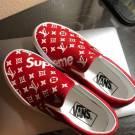 Louis Vuitton x Supreme Custom Vans