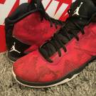 Nike Jordan Super Fly 4 849364-605 Gym Red White Black Camo