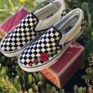"""Vans Slip On """"Roses"""" Customs"""