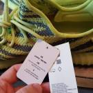 Adidas Yeezy Boost 350 V2 Semi Frozen Yellow Size 13