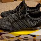 Adidas Ultra Boost Cleats UltraBOOST All Triple Black Football Superbowl RARE