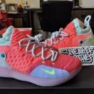Nike Zoom KD 11 XI EYBL Peach Jam Hot Punch Lime Blast Kevin Durant AO2604-600