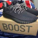 Yeezy Boost 350 V2 Black Static Size 11