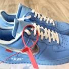 Off white x Nike Air Force 1 MCA University Blue